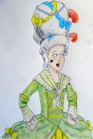 Horrible Histories - Georgian woman by lizzib7292