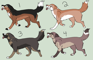 German Shepherd Point Adopts -CLOSED- by PoodleFradoodle