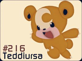 216 - Teddiursa by HunterDog