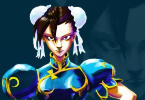 chun li - close crop by TooFriendly