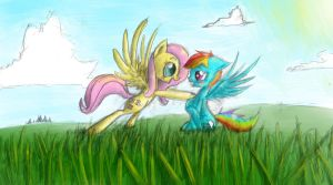 Lovebirds by Manearion
