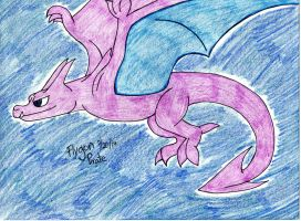 Shiny Aerodactyl by FlygonPirate