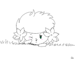 Shaymin Doodle by Sezfox