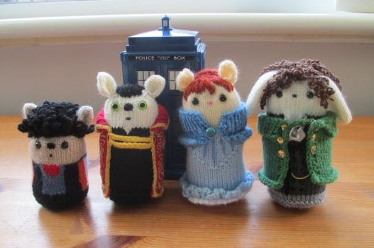 Doctor Who: The Enemy Within Amigurumi by fourthimbles