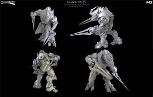 Halo 5:  Arbiter Concept by Dutch02