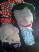 WIP The Dark Knight- The Joker by laners-08