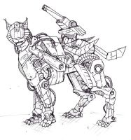 ZOIDS: Gravity Lynx by littleMURE