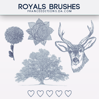 Royals // BRUSHES by FranceEditions