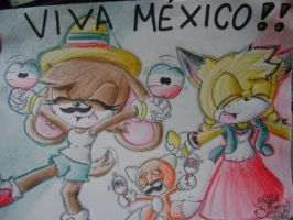 VIVA MEXICO by andy-little-dog