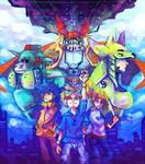 Digimon Tamers by LadyKuki