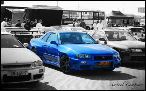 2000 Nissan Skyline R34 GT-R by compaan-art