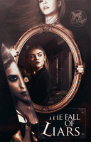 The Fall Of Liars - Wattpad BookCover by Blue-Holland-Grace