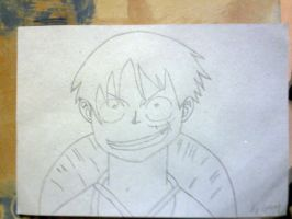Monkey D. Luffy by geerybacsi