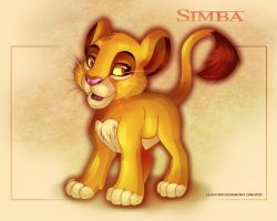 Simba - The Lion King by LilaCattis