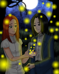 Fireflies by kaya-carrie-ko