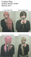 Taobao Wig Order by Ever-smiling
