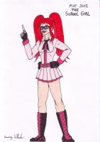 May 2012: The School Girl by Branded-Curse
