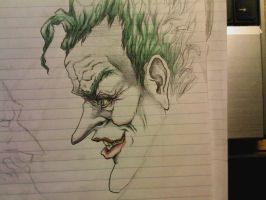 The Joker by sashaphanes