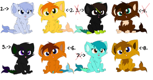 SunCat Pawlings Free Adopts CLOSED by sjsaberfan
