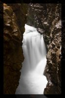 Waterfall Breitachklamm by deaconfrost78