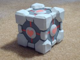 Companion Cube by sizzing