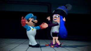 Dancin' with Blu Inkling (Splatoon GMOD) by Geoffman275