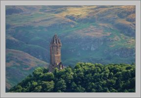 The Wallace Monument by Rajmund67