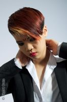 Spiced up Androgyny (for Short Cuts hairdressing) by Make-upArtist