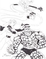Fantastic Four by jbugx