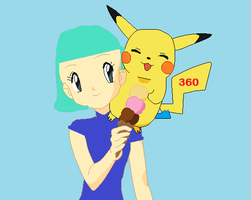 Master and pikaCOOL by pikaCOOL360