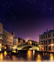 Nocturnal Venice by tanya-and-coffee