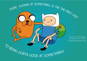 Finn and Jake Motivate You! by Clinton-Hatfield