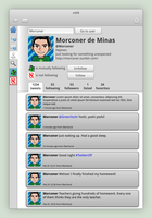 Twitter Client - User Profile by ArturoIlhuitemoc