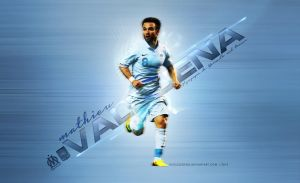 Mathieu Valbuena Wallpaper by eaglelegend