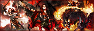 EDH Kaalia Banner by yh-sanitys-eclipse