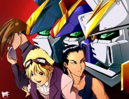 Gundam Wing... wait What? by Mintyrobo