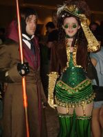 Steampunk Gambit + Rogue by CanisCamera