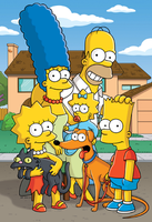 The 5 Cats of the Simpsons by DeverexDrawer