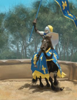2016 04-20 Knight Blue and Gold by jerwilson