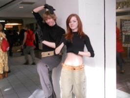 Ohayocon 2013: Kim and Ron from Kim Possible by crazygirl2015