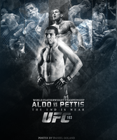 UFC 163 Poster (2nd Verision) by DGsWay