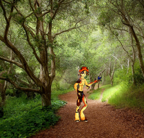 Rolf in the Forest by DannyP514