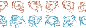 TLK Lionesses WIP by Morgan-Michele
