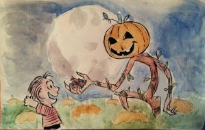 Inktober 06 - The Great Pumpkin by Chauvels