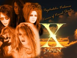 X-Japan - Psychedelic Violence by hide-loves-X