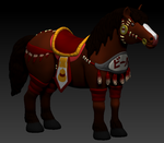 Concept Art: Dota 2 Brewmaster Horse Mount by Leomon90