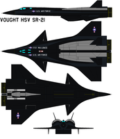 Vought HSV SR-21 by bagera3005