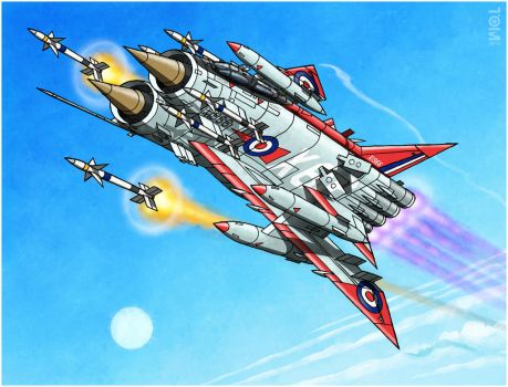 Anglo-Atomic Thunderbolt X1966 by tomzoo