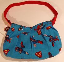 Superman Purse ON SALE! by MammaShaClothing