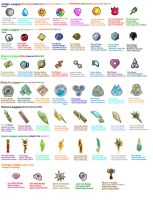 POKEMON all badges gen1 5 by primavistax
